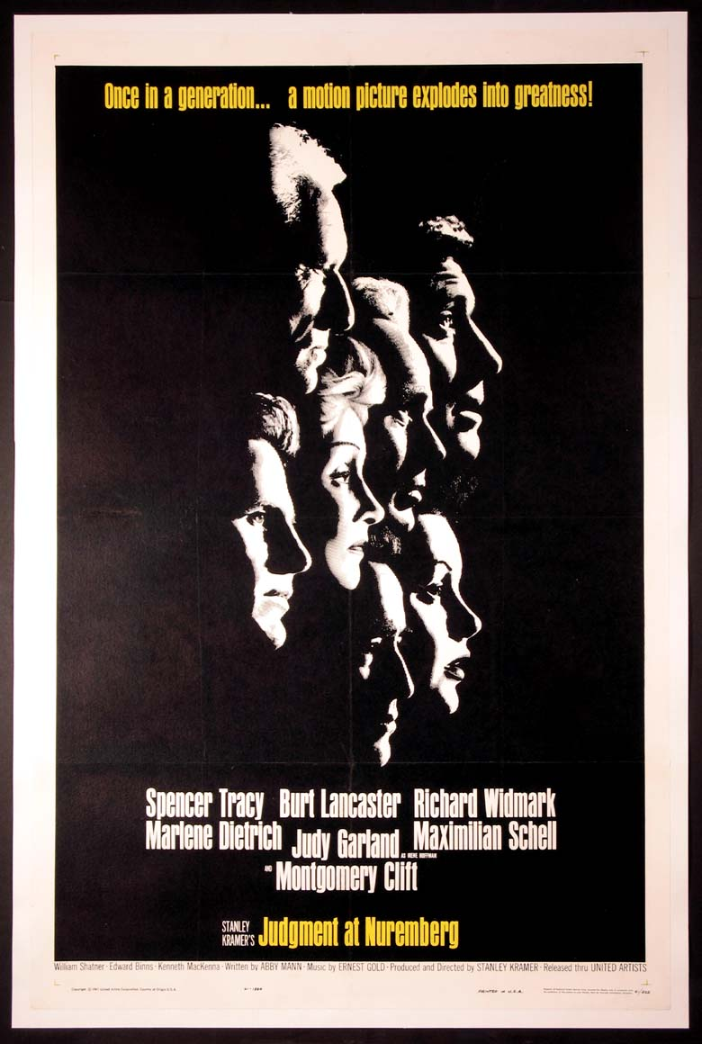 JUDGMENT AT NUREMBERG @ FilmPosters.com
