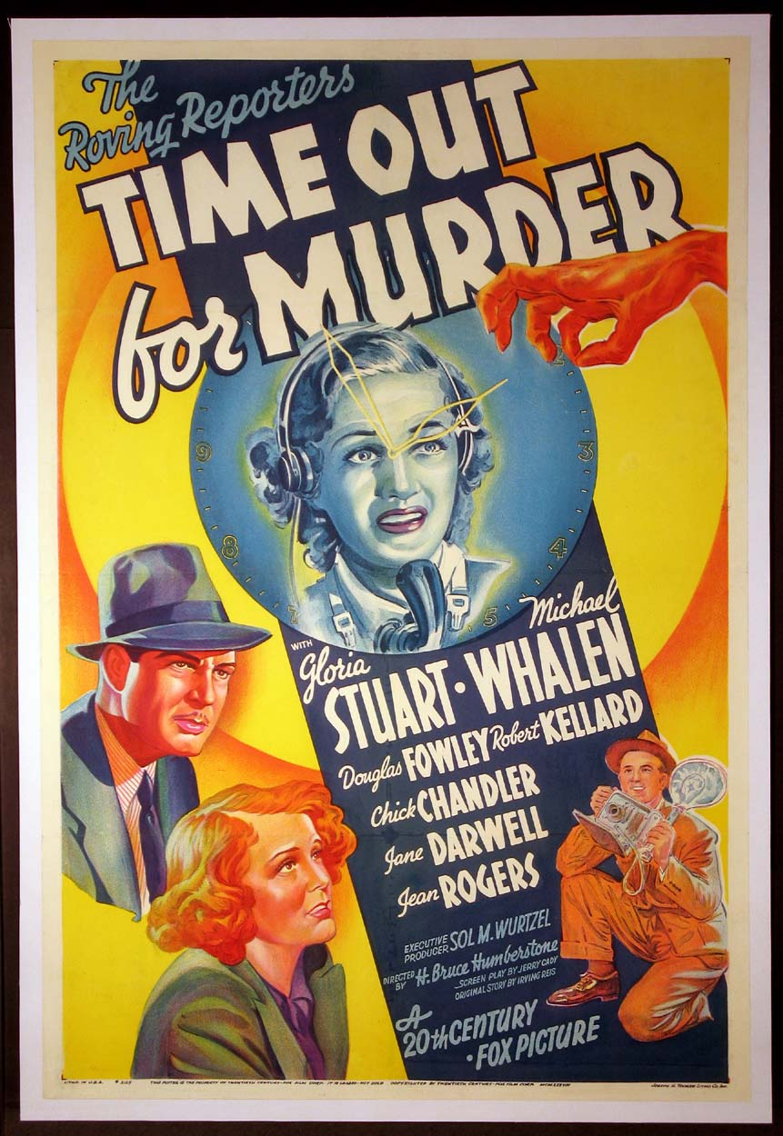 TIME OUT FOR MURDER @ FilmPosters.com