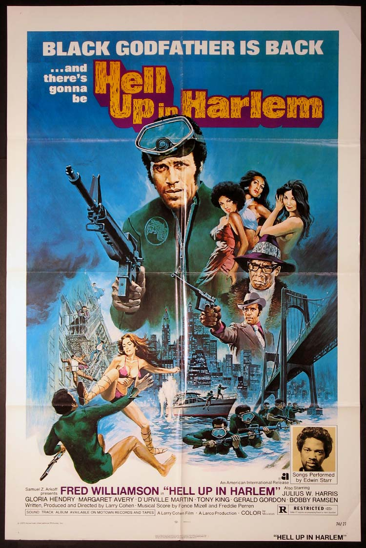 HELL UP IN HARLEM @ FilmPosters.com