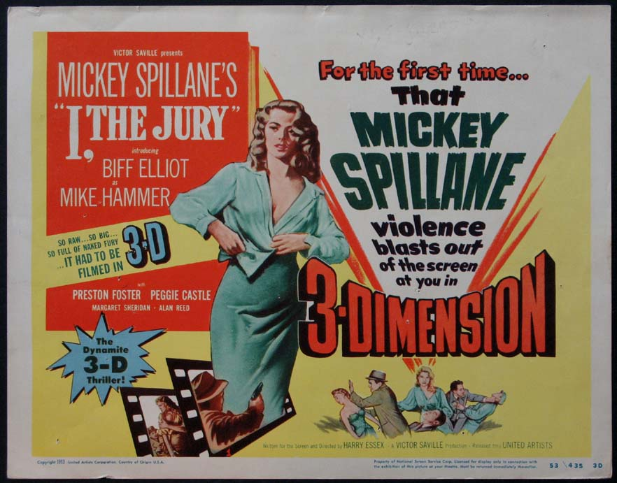 I, THE JURY (Mickey Spillane's I the Jury) @ FilmPosters.com
