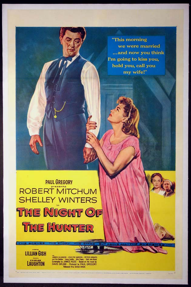 NIGHT OF THE HUNTER @ FilmPosters.com