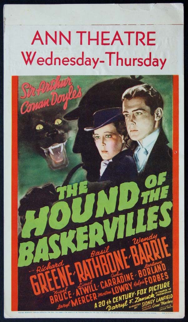HOUND OF THE BASKERVILLES, THE (Sherlock Holmes series) @ FilmPosters.com
