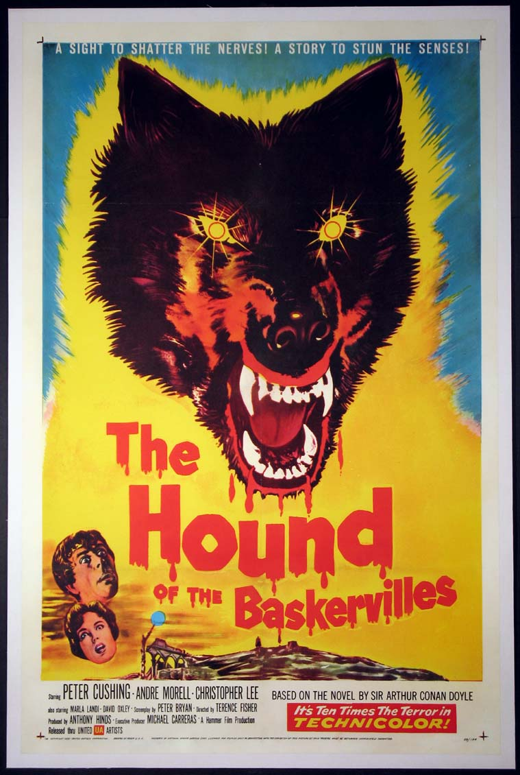 HOUND OF THE BASKERVILLES @ FilmPosters.com