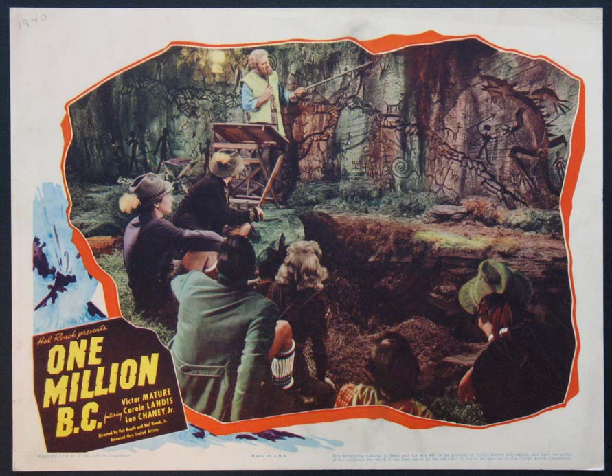 ONE MILLION B.C. @ FilmPosters.com