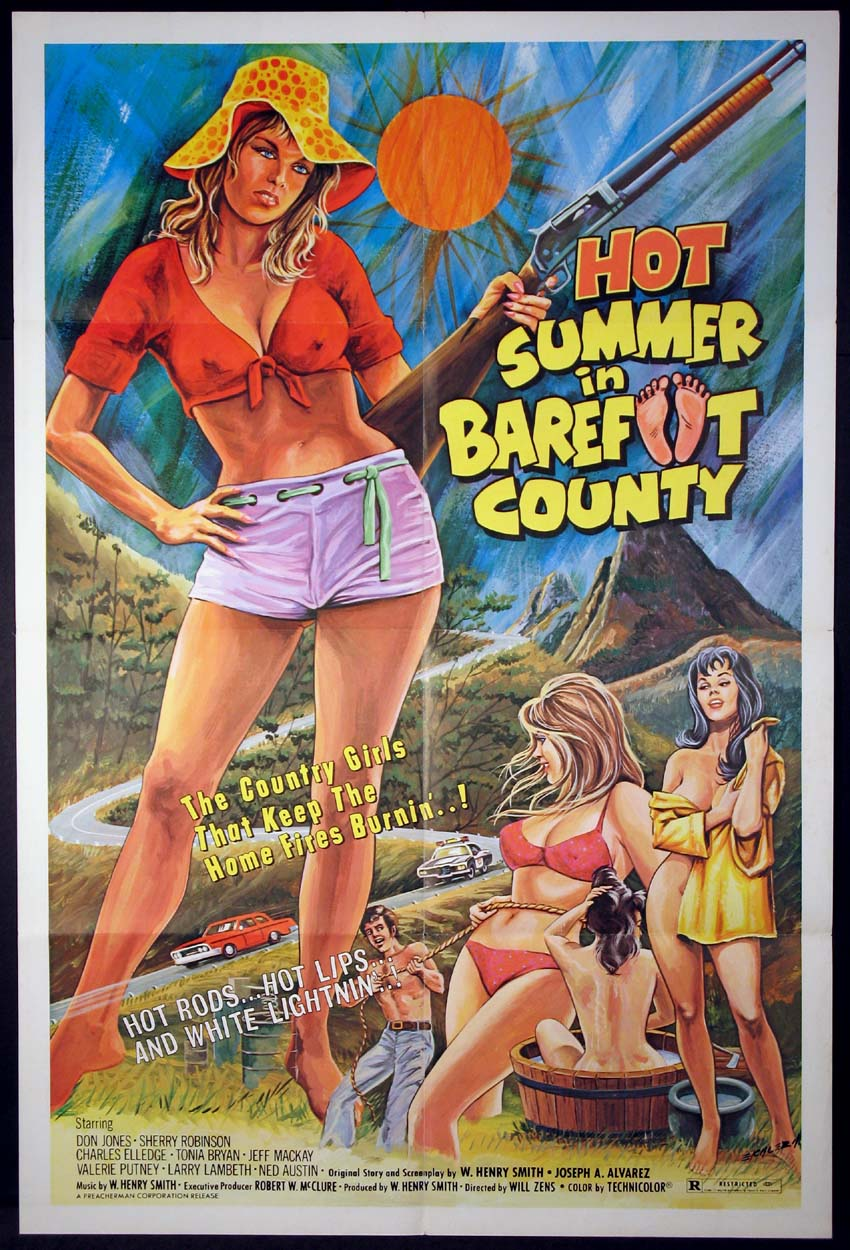 HOT SUMMER IN BAREFOOT COUNTY @ FilmPosters.com