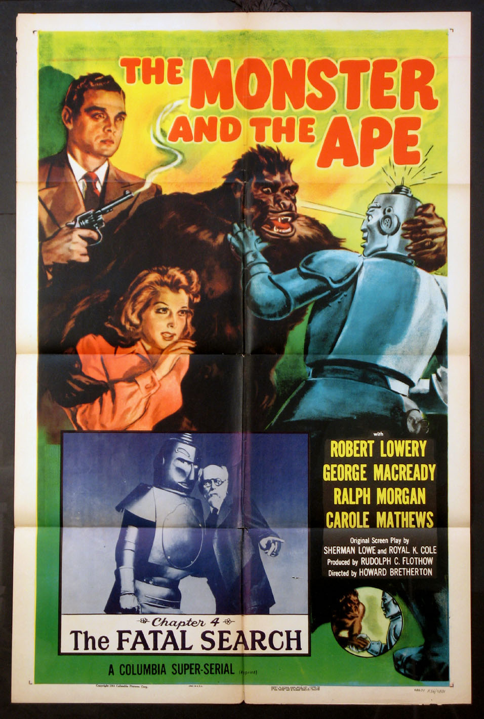 MONSTER AND THE APE @ FilmPosters.com