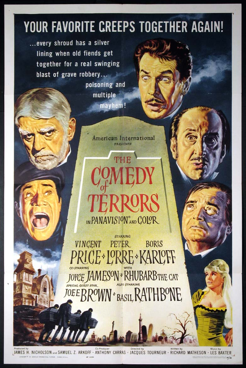 COMEDY OF TERRORS @ FilmPosters.com