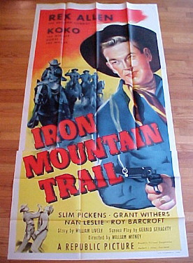 IRON MOUNTAIN TRAIL @ FilmPosters.com