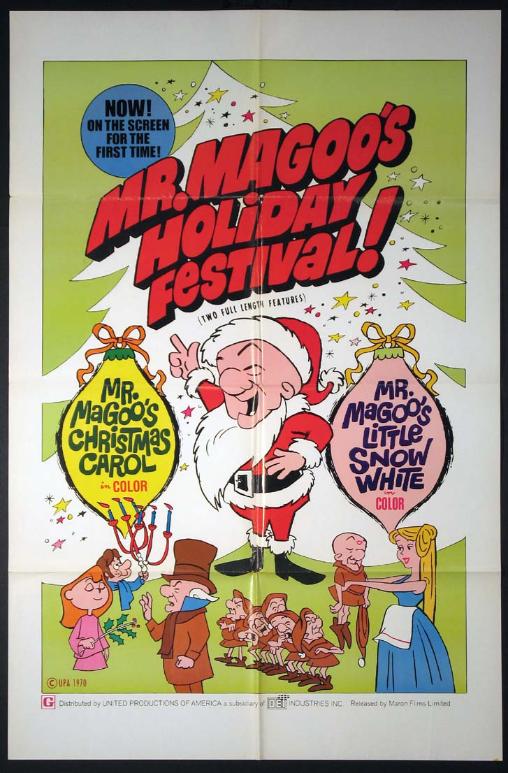 MR. MAGOO'S CHRISTMAS CAROL / MR. MAGOO'S LITTLE SNOW WHITE @ FilmPosters.com