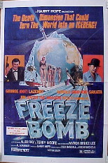 FREEZE BOMB (aka: Death Dimension) James Bond ripoff @ FilmPosters.com