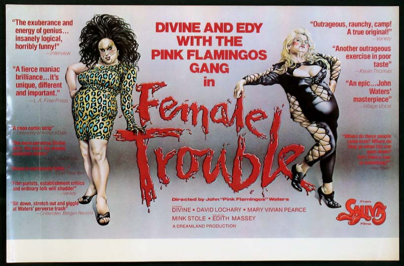FEMALE TROUBLE @ FilmPosters.com