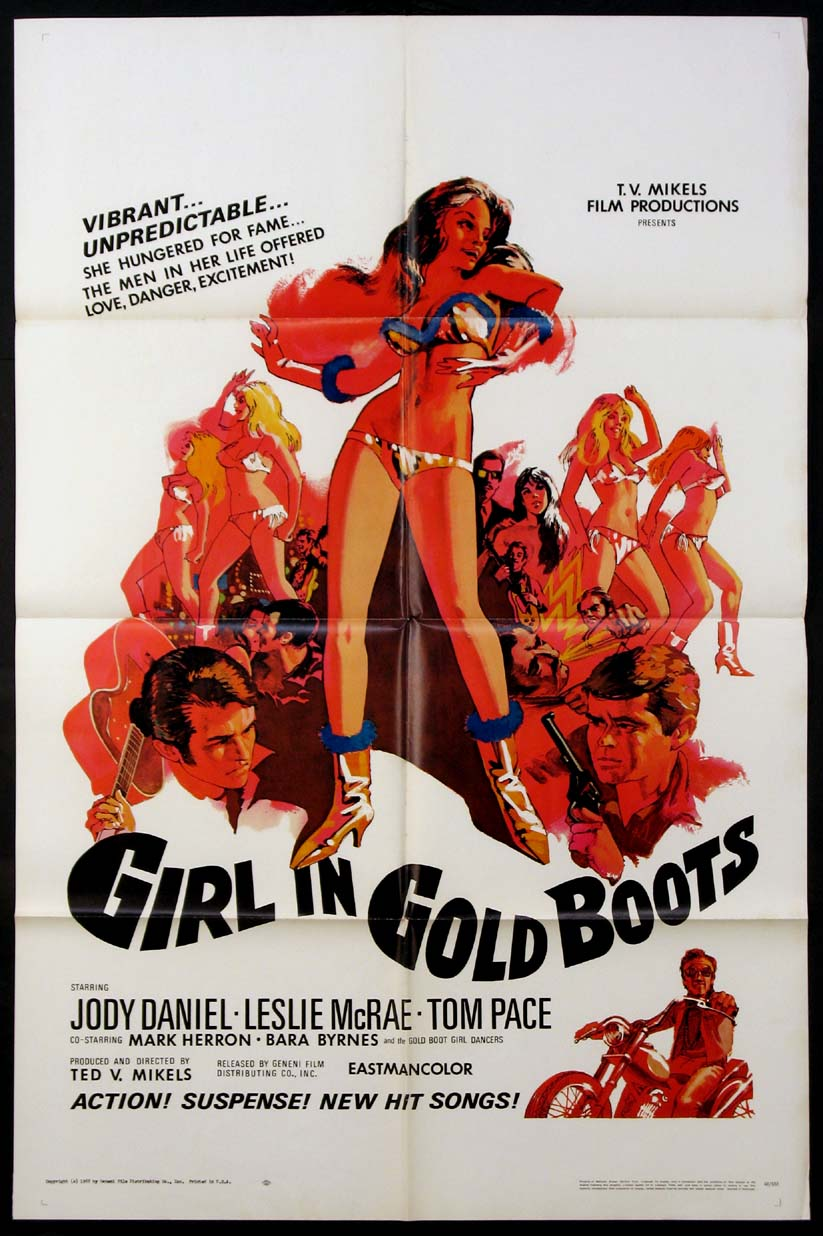 GIRL IN GOLD BOOTS @ FilmPosters.com