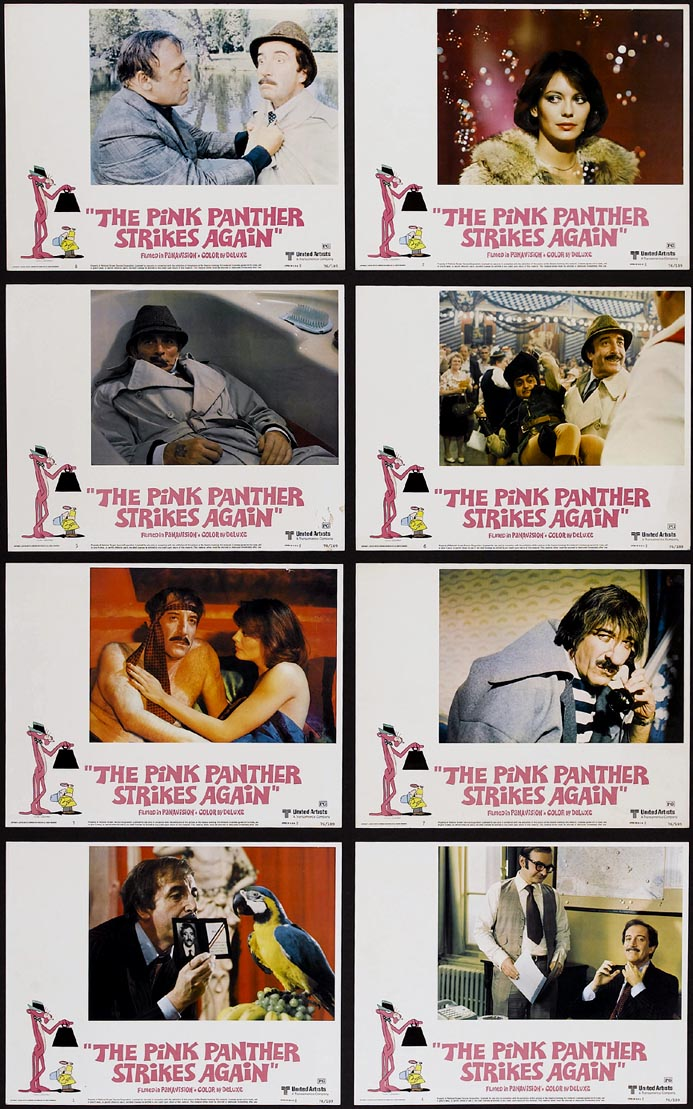 PINK PANTHER STRIKES AGAIN, THE @ FilmPosters.com