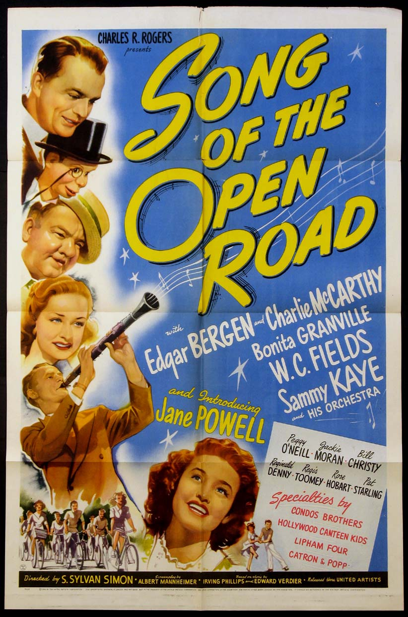 SONG OF THE OPEN ROAD @ FilmPosters.com