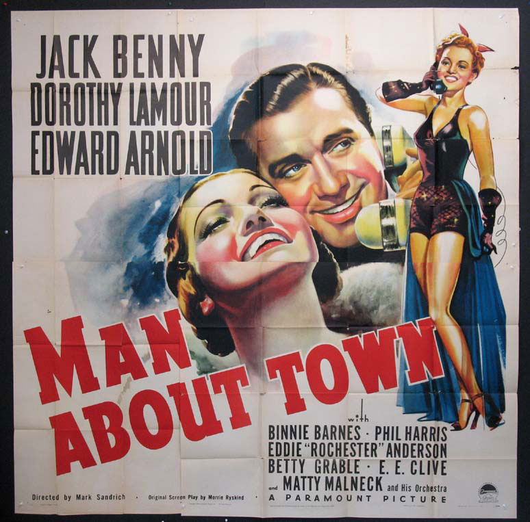 MAN ABOUT TOWN @ FilmPosters.com