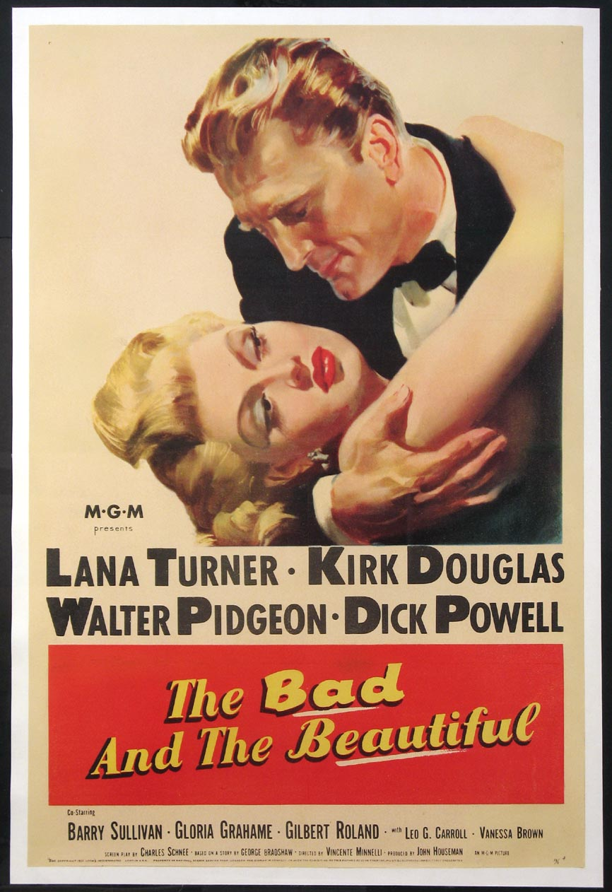 BAD AND THE BEAUTIFUL, THE (The Bad and the Beautiful) @ FilmPosters.com