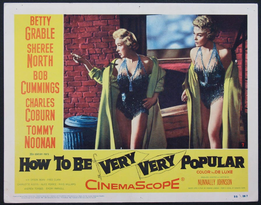 HOW TO BE VERY VERY POPULAR @ FilmPosters.com