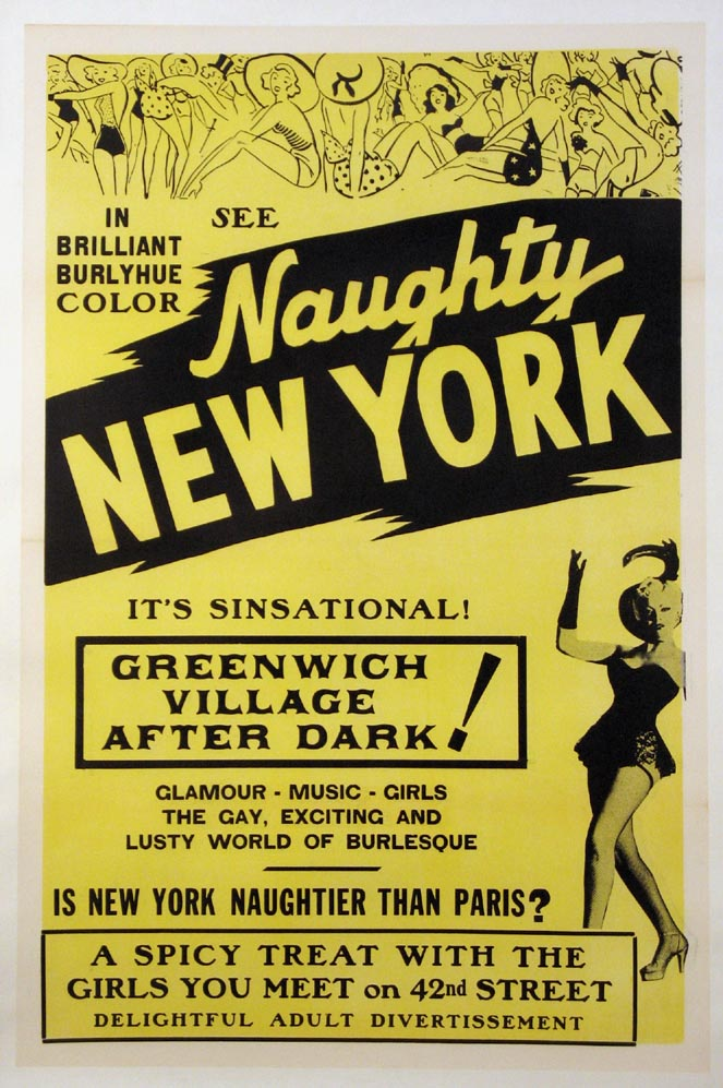 NAUGHTY NEW YORK @ FilmPosters.com