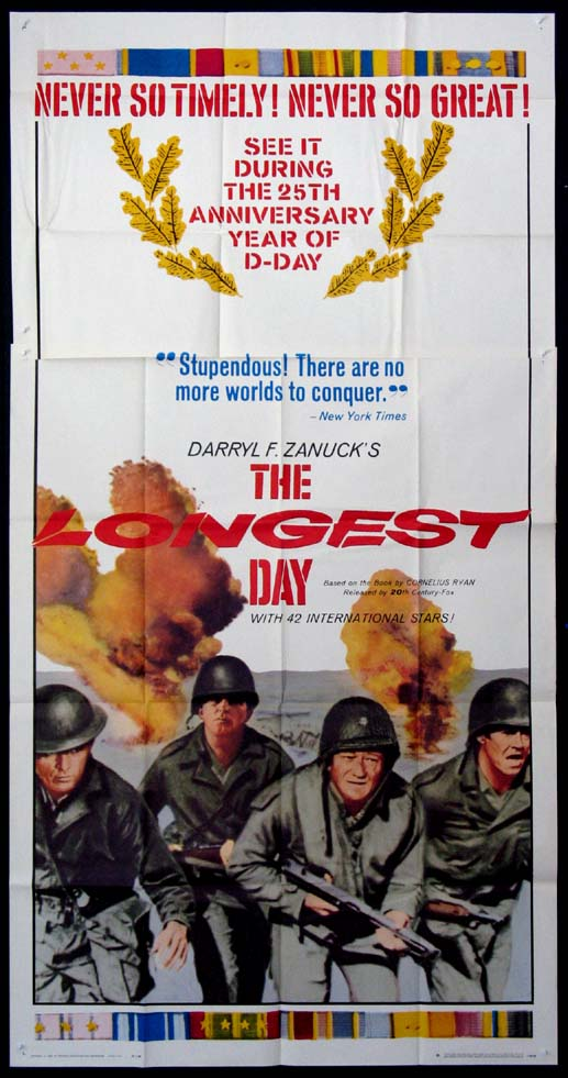 LONGEST DAY, THE @ FilmPosters.com