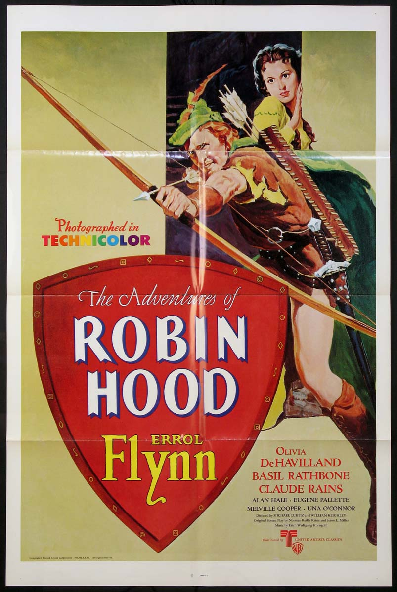 ADVENTURES OF ROBIN HOOD @ FilmPosters.com