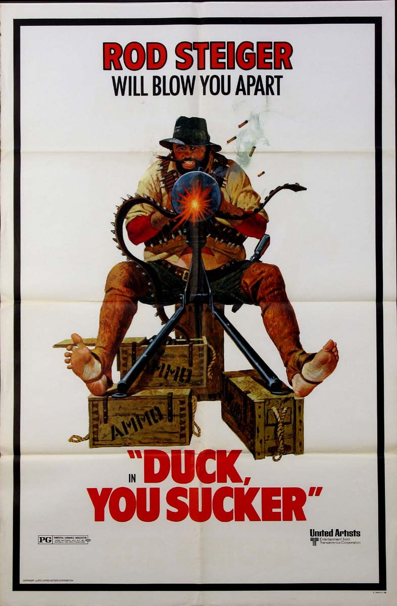 DUCK YOU SUCKER (A Fistful of Dynamite) @ FilmPosters.com