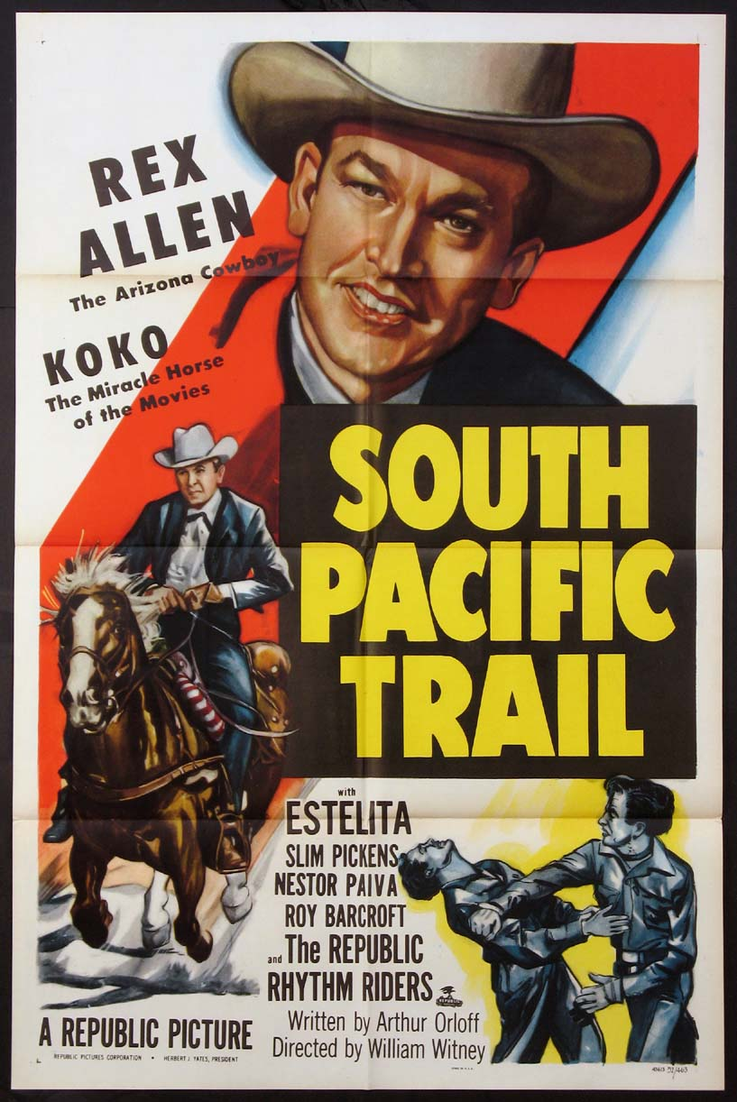 SOUTH PACIFIC TRAIL @ FilmPosters.com