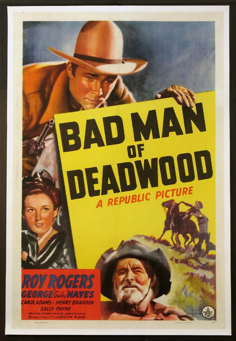 BAD MAN OF DEADWOOD @ FilmPosters.com