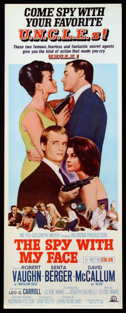 SPY WITH MY FACE, THE (Man from U.N.C.L.E. series) @ FilmPosters.com