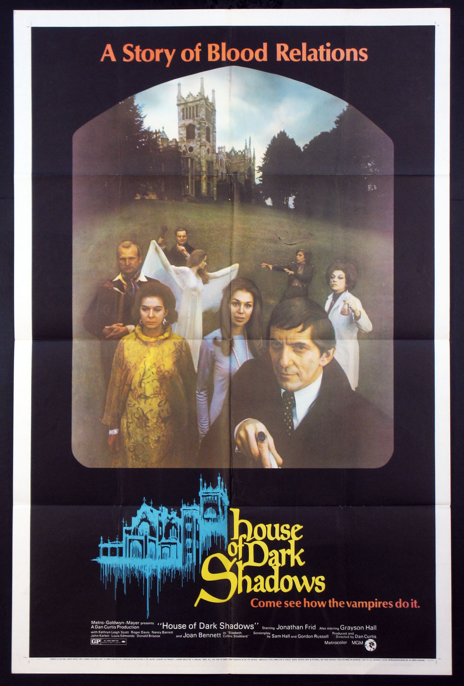 HOUSE OF DARK SHADOWS @ FilmPosters.com