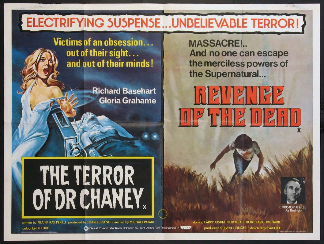 TERROR OF DR. CHANEY / REVENGE OF THE DEAD @ FilmPosters.com