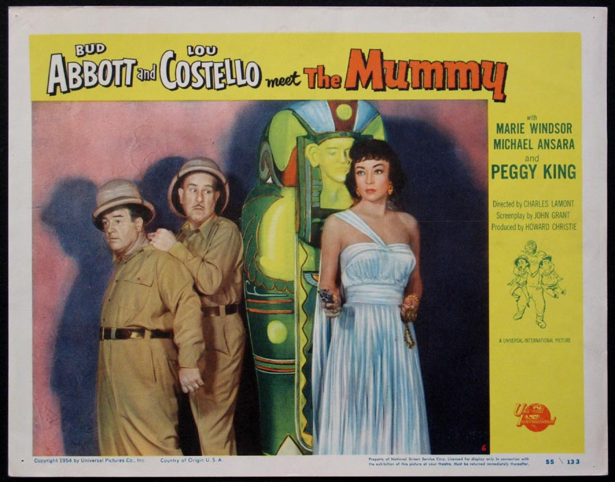 ABBOTT AND COSTELLO MEET THE MUMMY @ FilmPosters.com