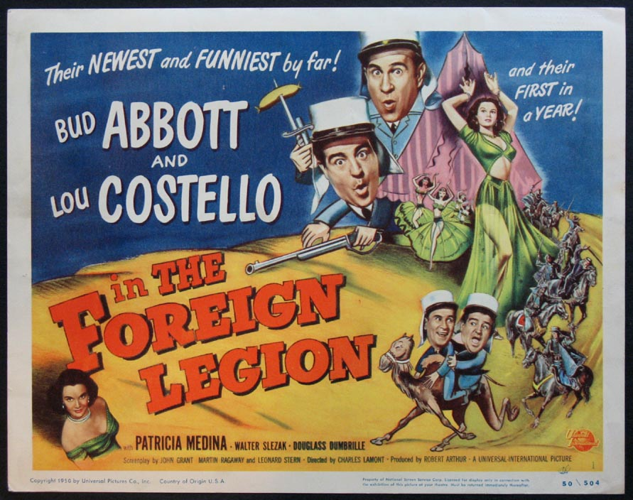 ABBOTT AND COSTELLO IN THE FOREIGN LEGION @ FilmPosters.com