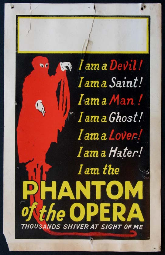 PHANTOM OF THE OPERA @ FilmPosters.com