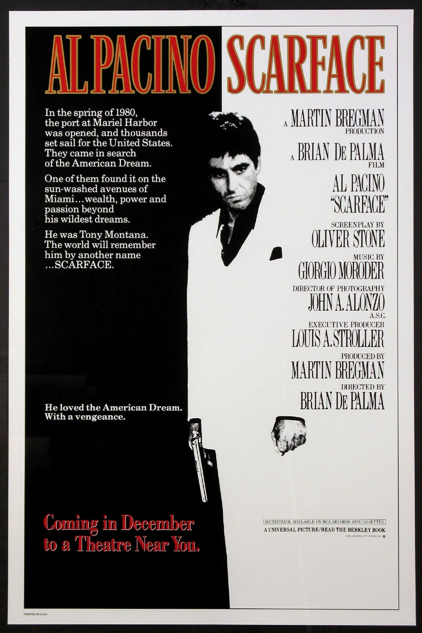 SCARFACE @ FilmPosters.com