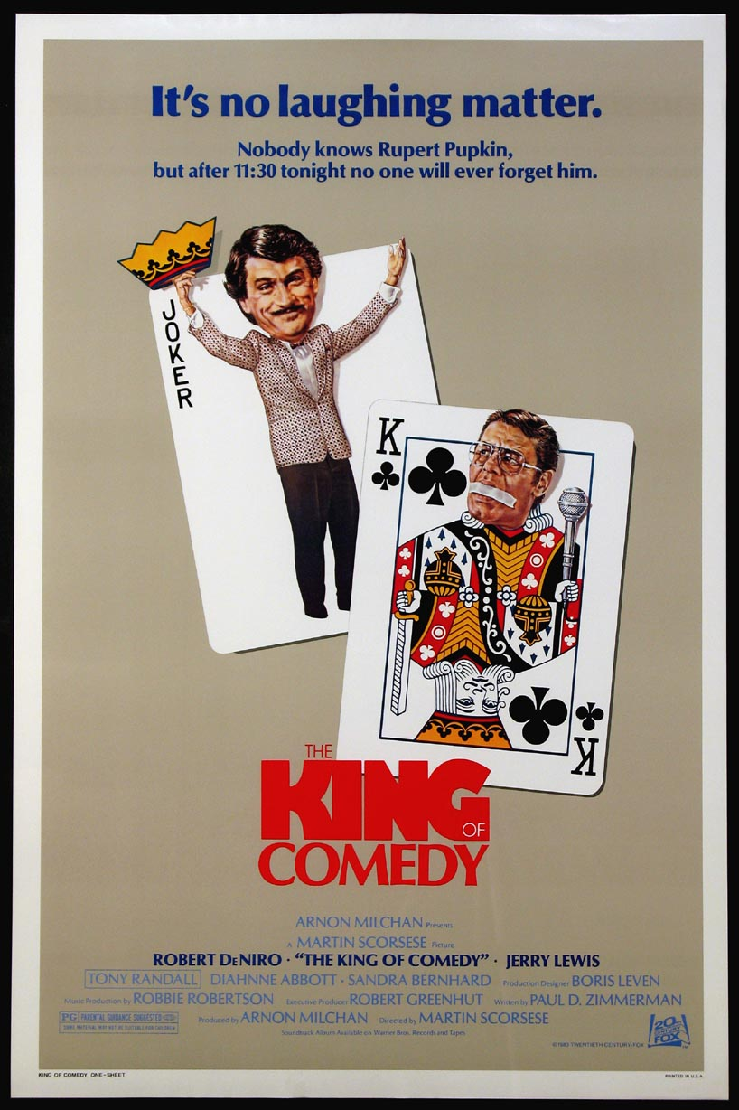 KING OF COMEDY, THE @ FilmPosters.com