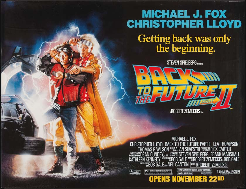 BACK TO THE FUTURE PART II @ FilmPosters.com
