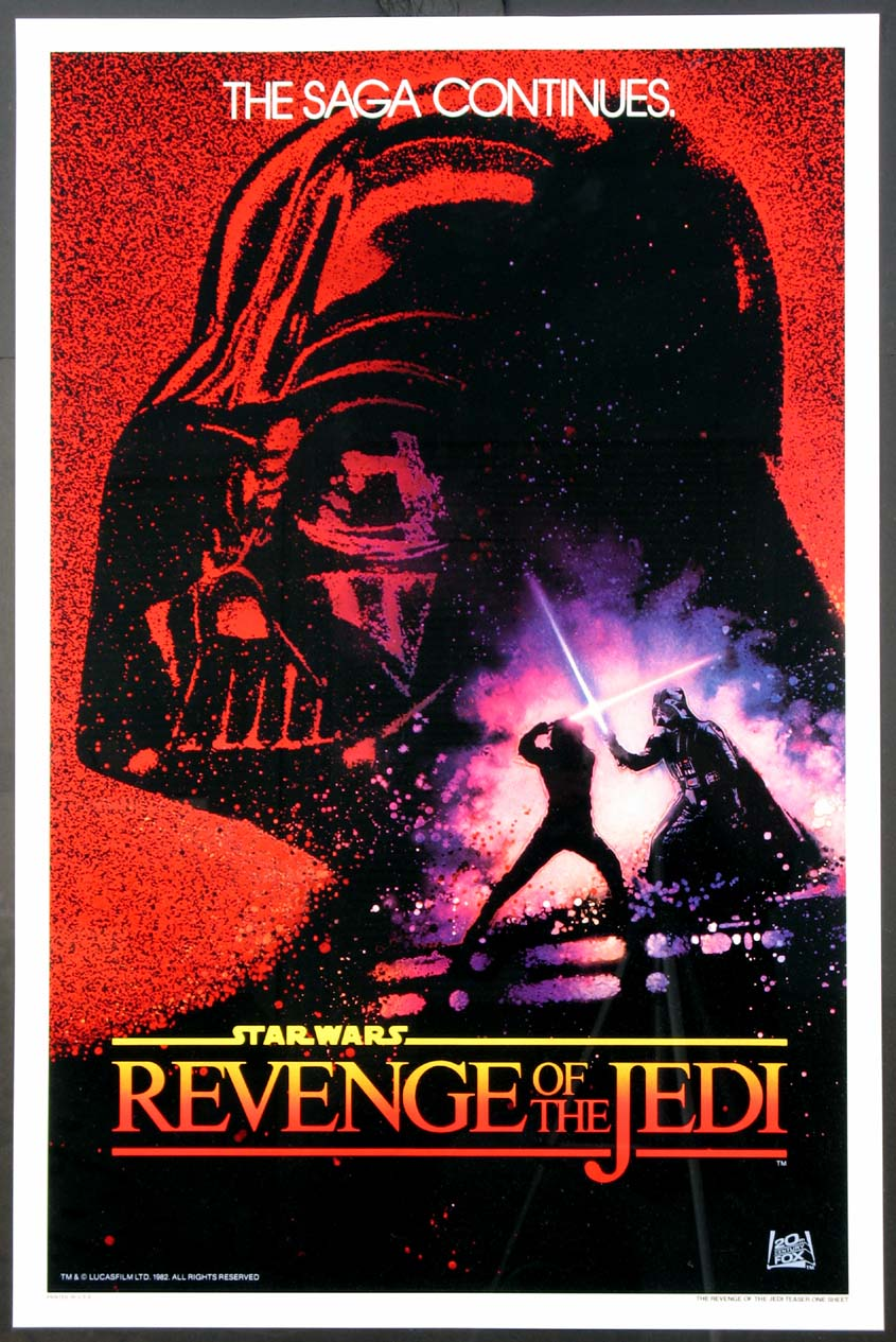 REVENGE OF THE JEDI (Return of the Jedi) @ FilmPosters.com