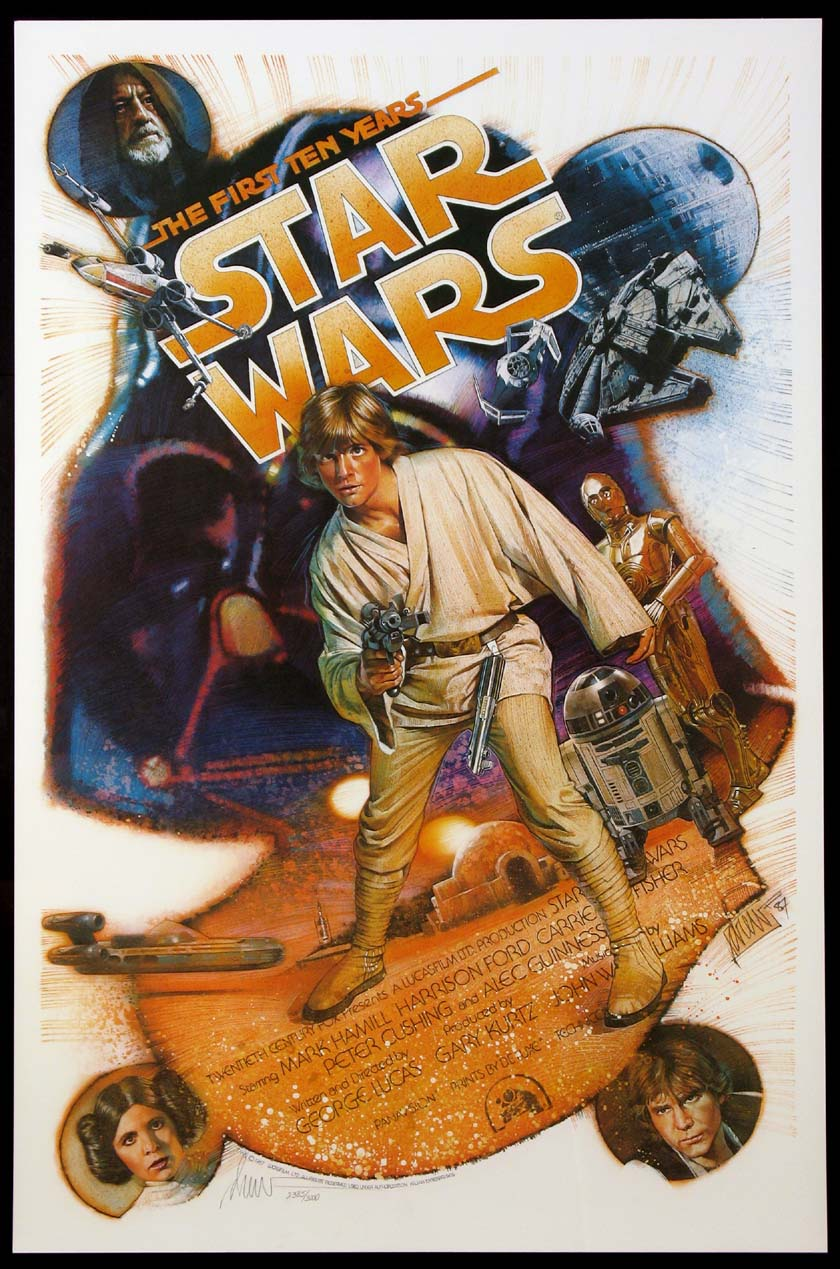STAR WARS - THE FIRST TEN YEARS SIGNED @ FilmPosters.com