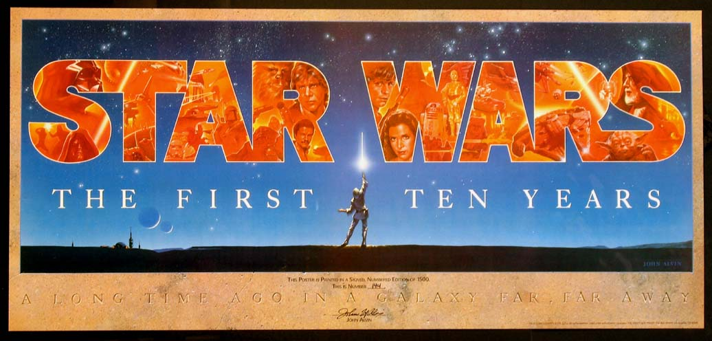 STAR WARS - THE FIRST TEN YEARS @ FilmPosters.com