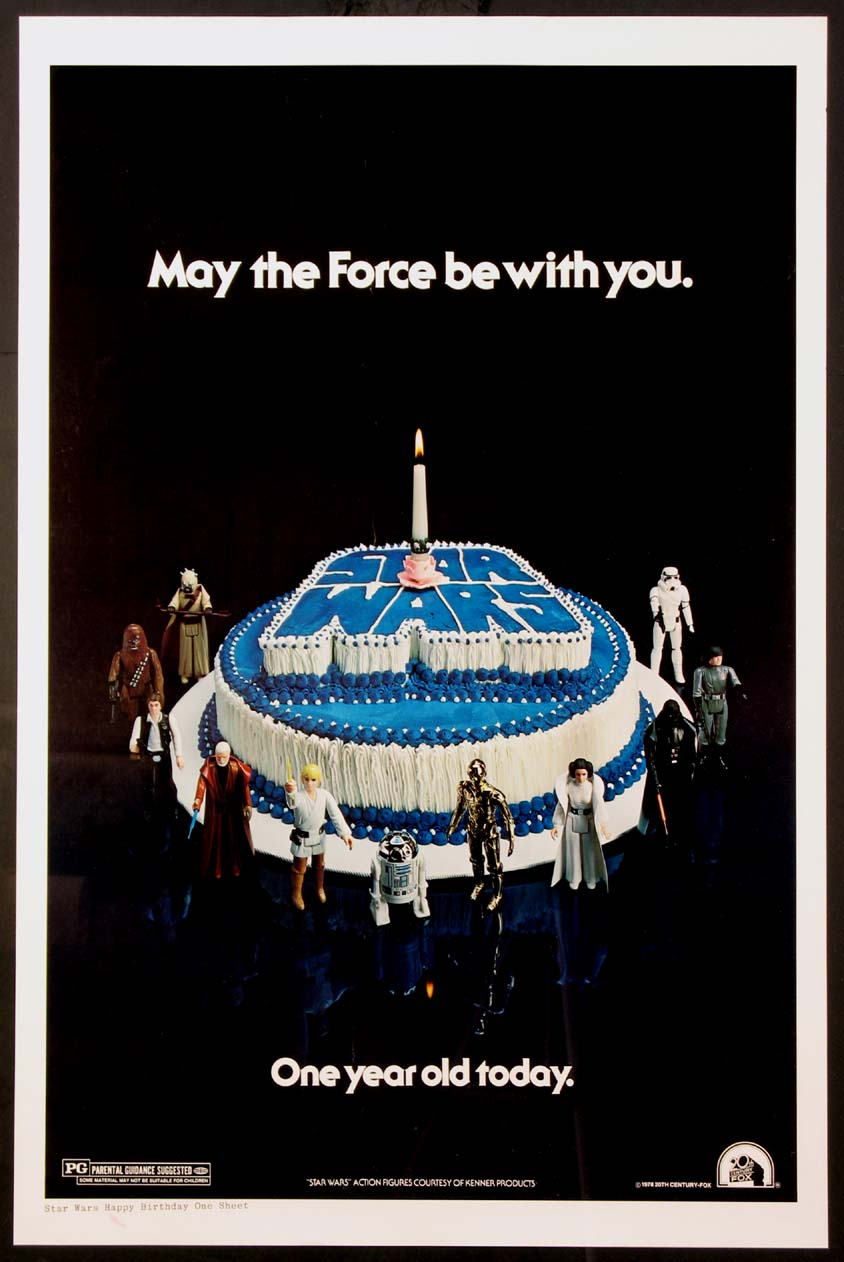 STAR WARS - HAPPY BIRTHDAY STYLE @ FilmPosters.com