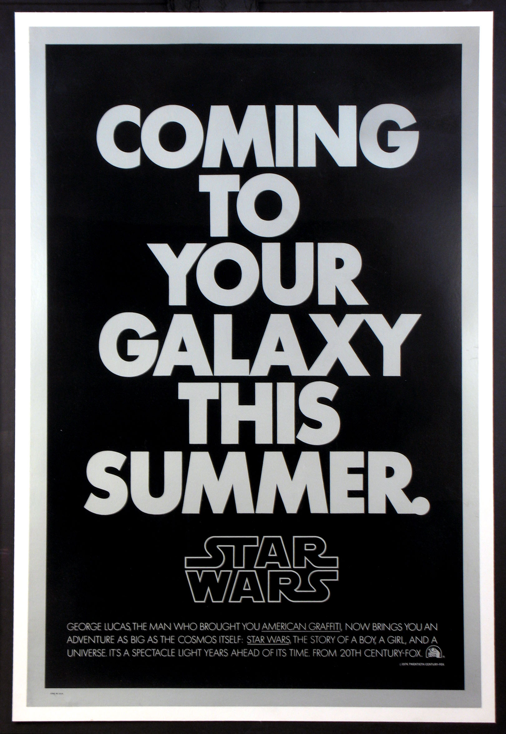 STAR WARS - SILVER AND BLACK SECOND ADVANCE @ FilmPosters.com
