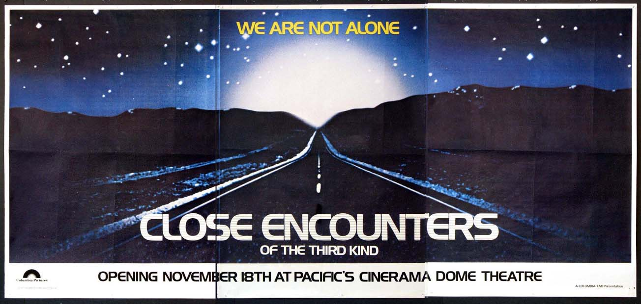 CLOSE ENCOUNTERS OF THE THIRD KIND - SPECIAL CINERAMA DOME POSTER @ FilmPosters.com