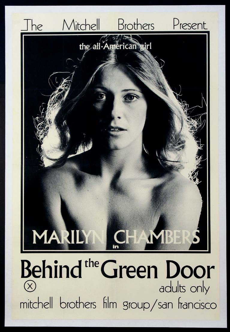 BEHIND THE GREEN DOOR @ FilmPosters.com