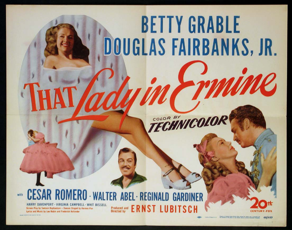 THAT LADY IN ERMINE @ FilmPosters.com
