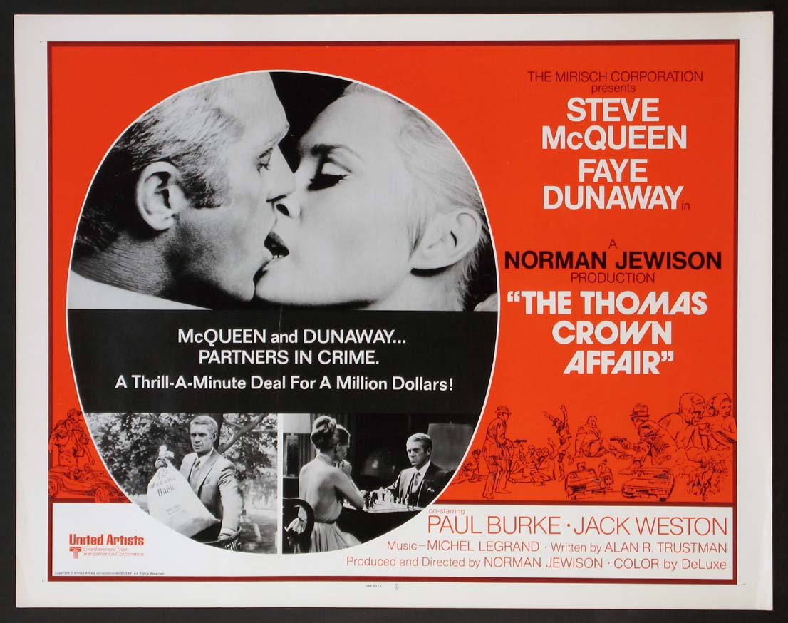 THOMAS CROWN AFFAIR, THE @ FilmPosters.com
