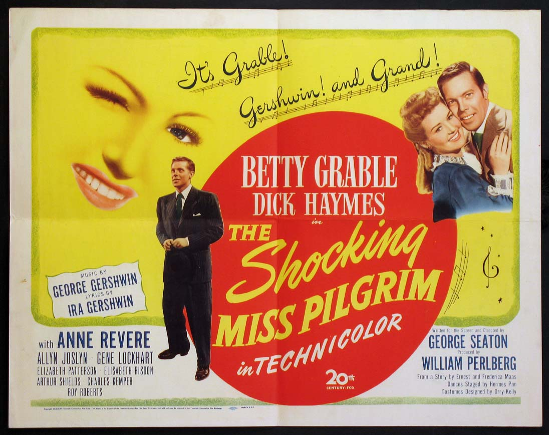 SHOCKING MISS PILGRIM, THE @ FilmPosters.com