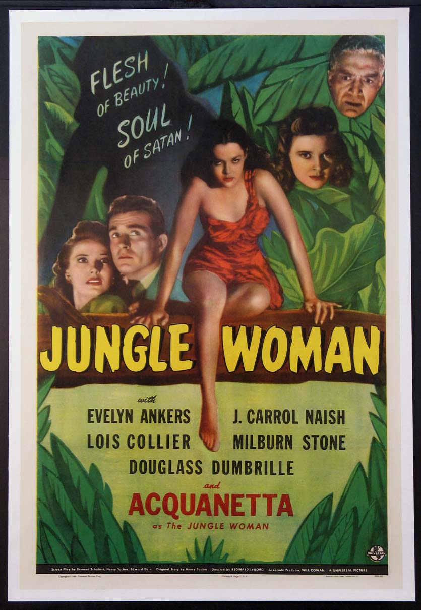 JUNGLE WOMAN @ FilmPosters.com