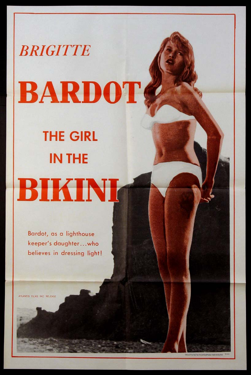 GIRL IN THE BIKINI, THE @ FilmPosters.com