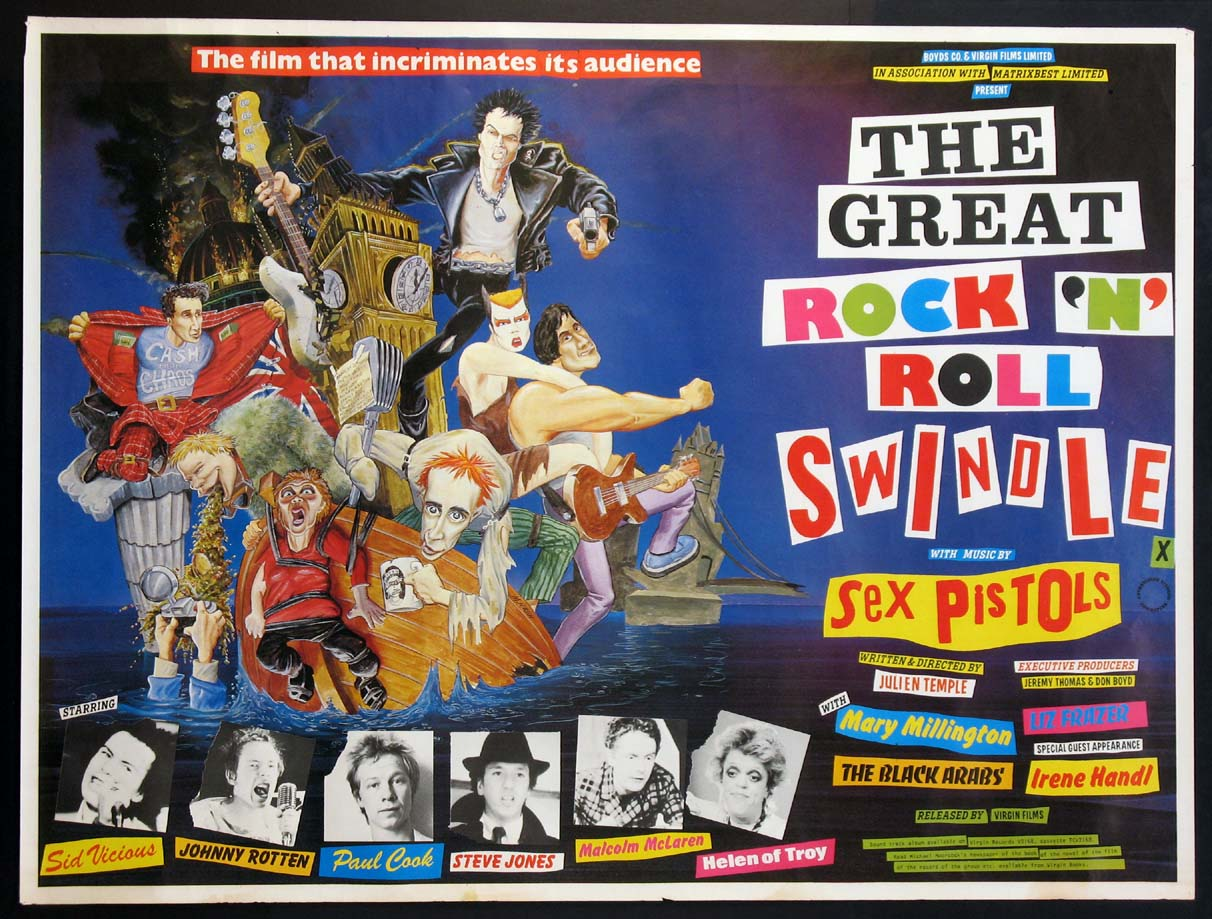 GREAT ROCK 'N' ROLL SWINDLE, THE @ FilmPosters.com