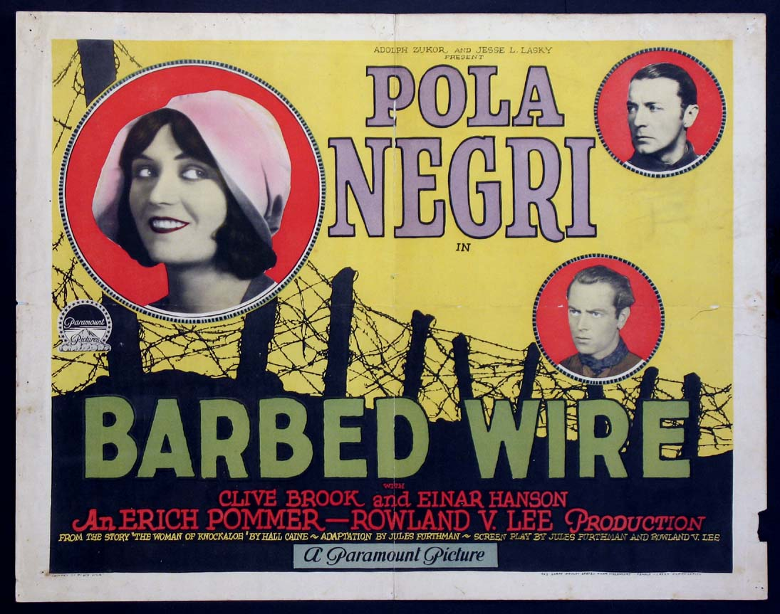 BARBED WIRE @ FilmPosters.com